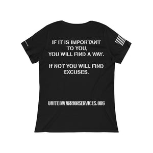 Womens UWS Official Scoop Neck Tee