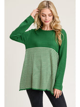 Load image into Gallery viewer, McKenna Long Sleeve Striped Sweater