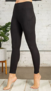 Butter Leggings with Side Pockets
