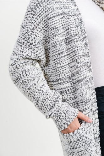 Popcorn Cardigan of Your Dreams