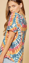 Load image into Gallery viewer, Leela Tie Dye Knit Top