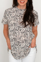 Load image into Gallery viewer, Paisley Woven Top