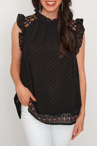 Savannah Jane Embroidery Top