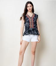 Load image into Gallery viewer, Mona Multicolor Embroidered Top