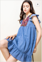 Load image into Gallery viewer, Summer Love Flutter Sleeve Dress