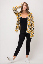 Load image into Gallery viewer, Mohair Leopard Open Front Cardigan