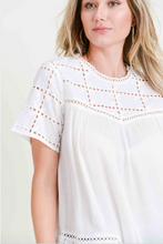Load image into Gallery viewer, Sarah Eyelet Top