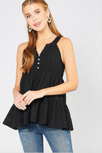 Load image into Gallery viewer, Daisy Eyelet Sleeveless