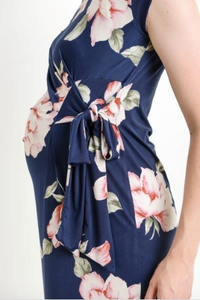 Jenny Floral Maternity Dress