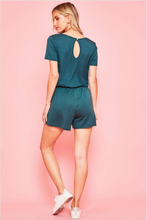 Load image into Gallery viewer, Short Sleeve Short Romper