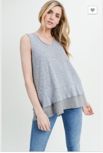 Everlie V-Neck Tank Top