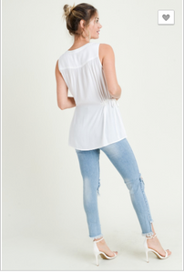 Lucy Sleeveless Top
