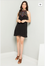 Load image into Gallery viewer, Eden Embroidered Halter Dress