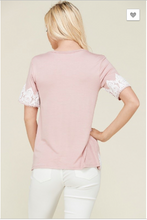 Load image into Gallery viewer, Elizabeth Scalloped Trim Top