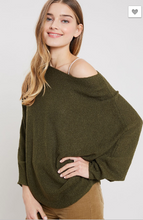 Load image into Gallery viewer, Jess Slouchy Knit Sweater