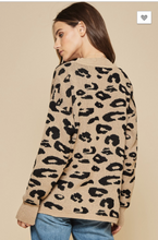 Load image into Gallery viewer, Coco Leopard Pullover Sweater