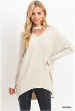 Load image into Gallery viewer, Cheyenne Keyhole Ribbed Sweater