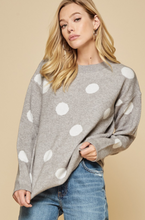 Load image into Gallery viewer, Pretty in Polka Dots Sweater