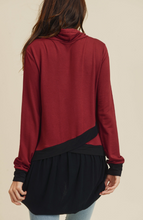 Load image into Gallery viewer, Chloe Casual Cowl Neck Top