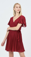 Load image into Gallery viewer, Lily's Party Pleated Dress