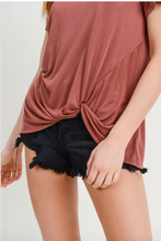 Load image into Gallery viewer, Miranda Twist Front Top
