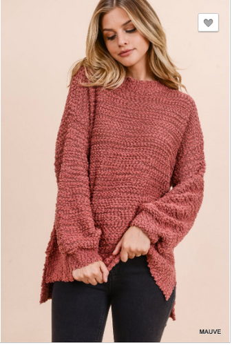 Simone Popcorn Sweater