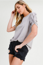 Load image into Gallery viewer, Madison Twist Sleeve Tee