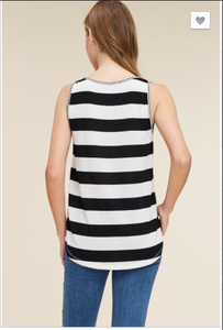 Madeline Striped Tank