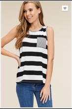 Load image into Gallery viewer, Madeline Striped Tank