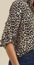 Load image into Gallery viewer, Stacy Animal Printed Button Down Shirt