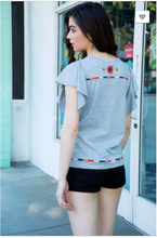 Load image into Gallery viewer, Alyssa Flutter Sleeve Top