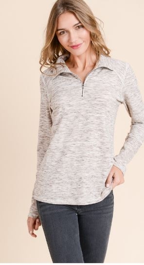 Taylor Front Zip Pull Over