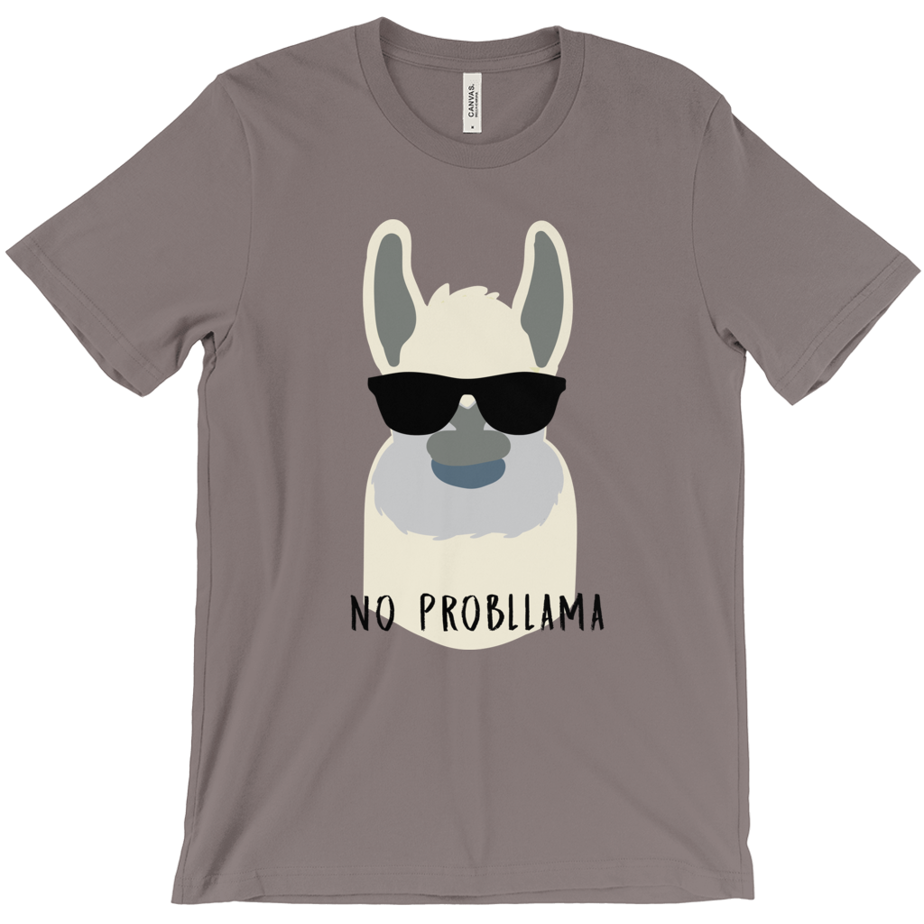 No Probllama Short Sleeve Tee