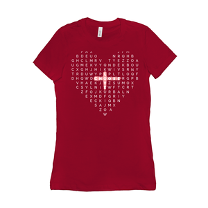 Choose Love Women's Short Sleeve Tee