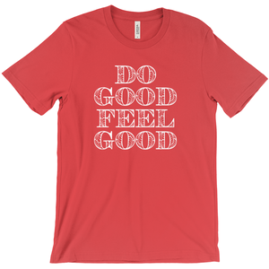 Do Good Feel Good Short Sleeve Tee