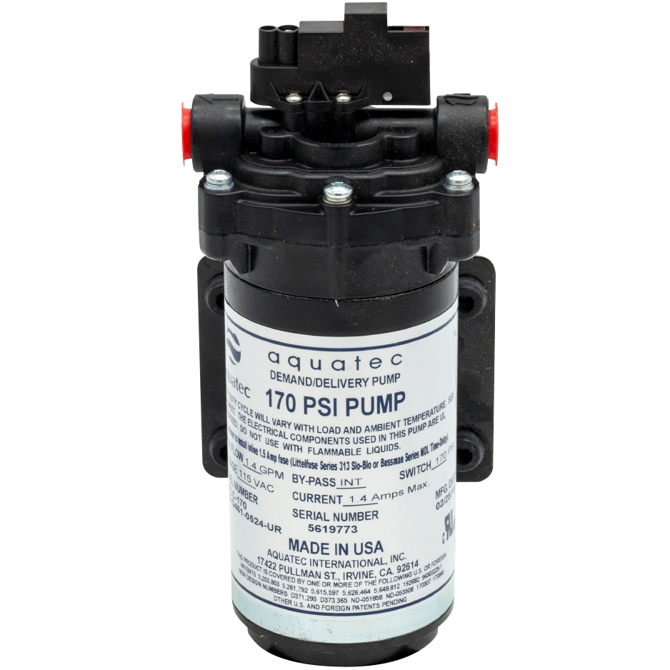 Pump (Aquatec 170psi)