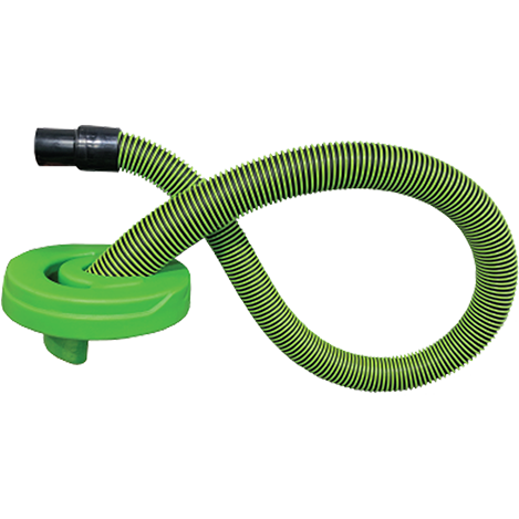 Hose & Lid (Never-Clog Tapered)