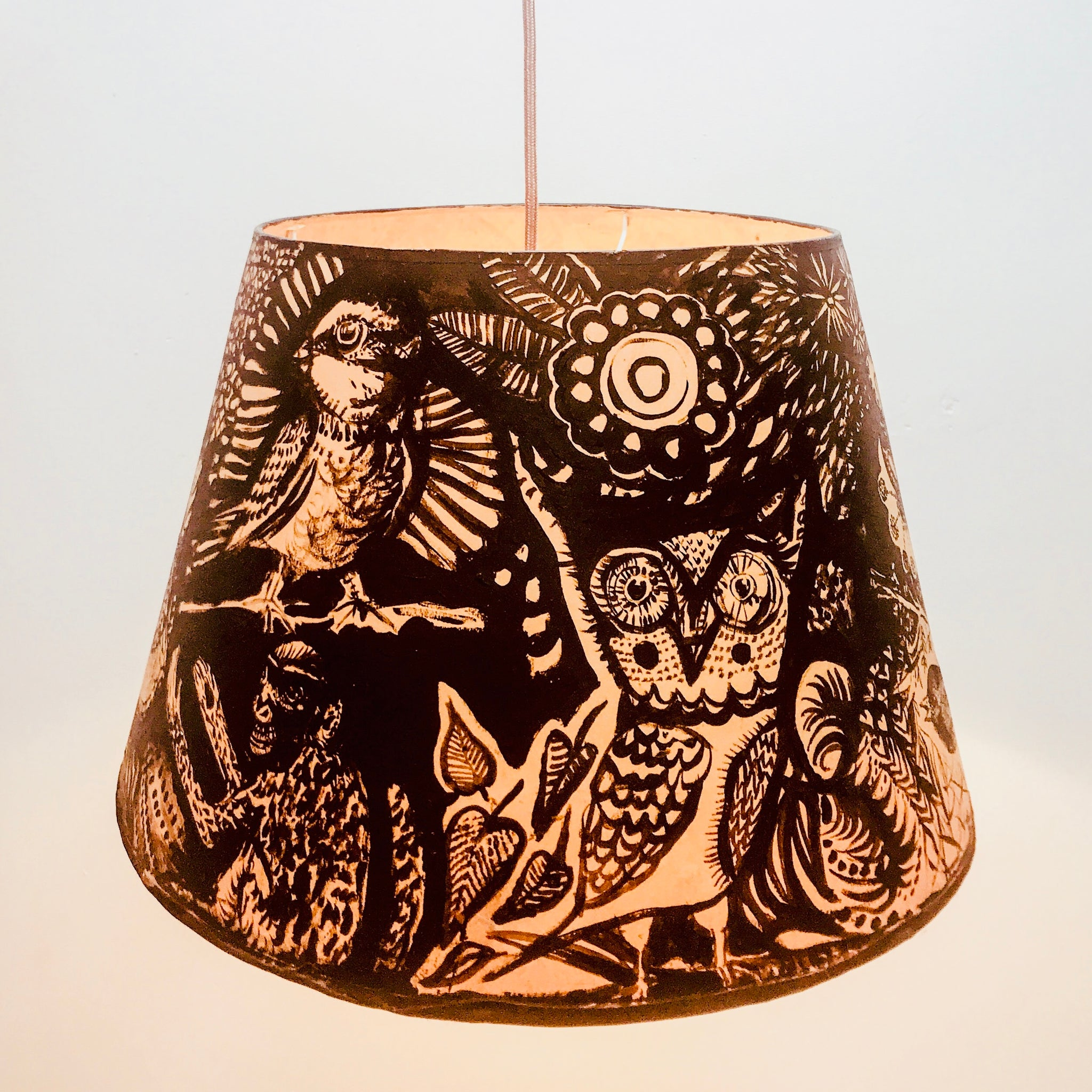 Night Owl Lampshade