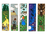(Wholesale) Children's Classics Collection: 24 BOOKMARKS TOTAL - Wizard of Oz, Tom Sawyer, Anne of Green Gables, Peter Pan, Robin Hood