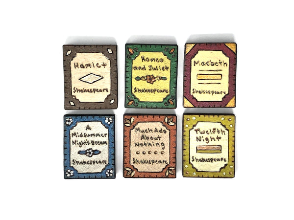 William Shakespeare Magnet Set