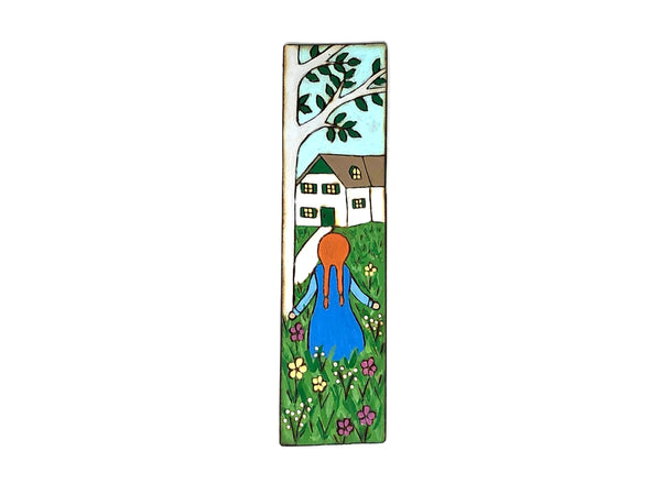 anne of green gables wooden bookmark