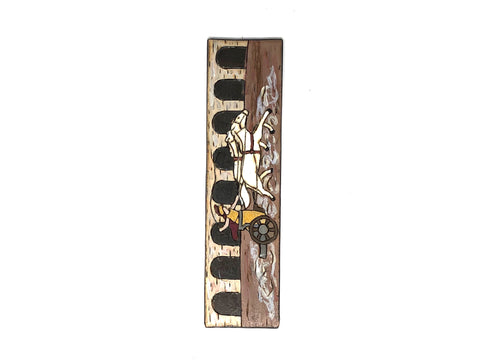 ben hur wooden bookmark