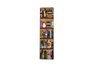 Books and Plants Bookshelf Bookmark