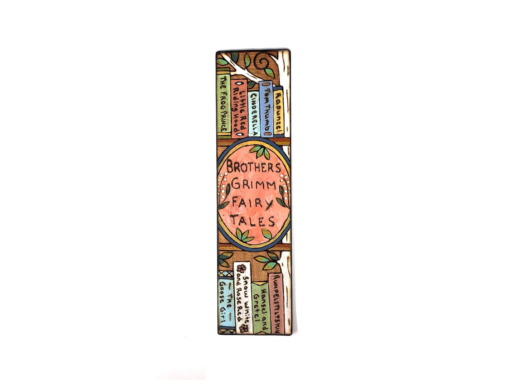 fairy tale wooden bookmark