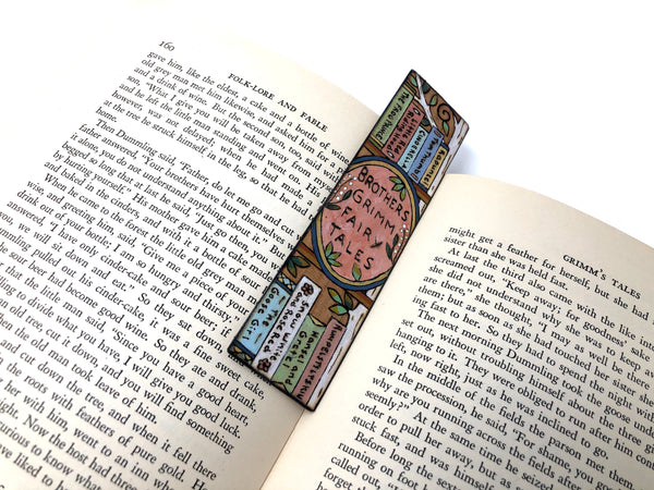 brothers grimm bookmark