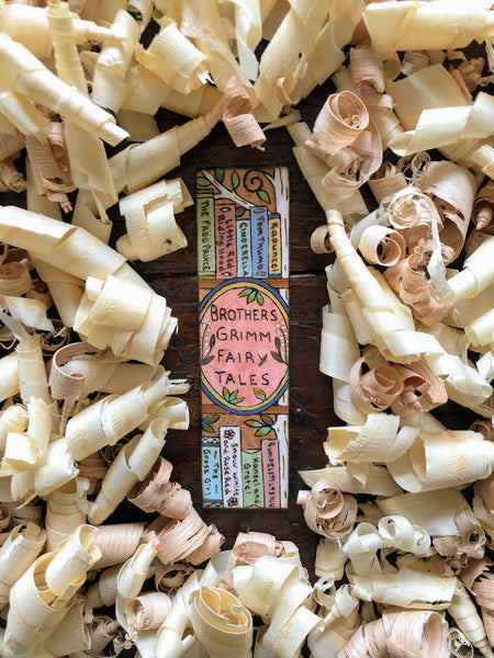 grimms fairy tales bookmark