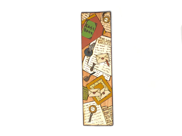 mystery wooden bookmark