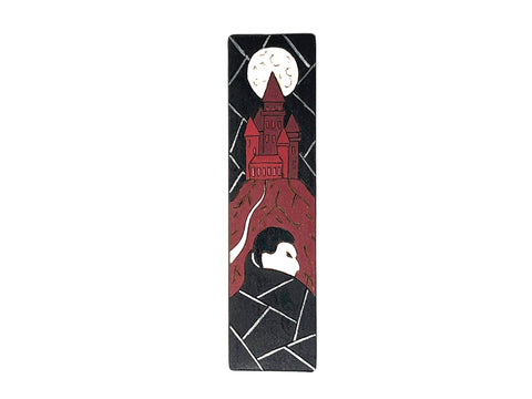 dracula wooden bookmark