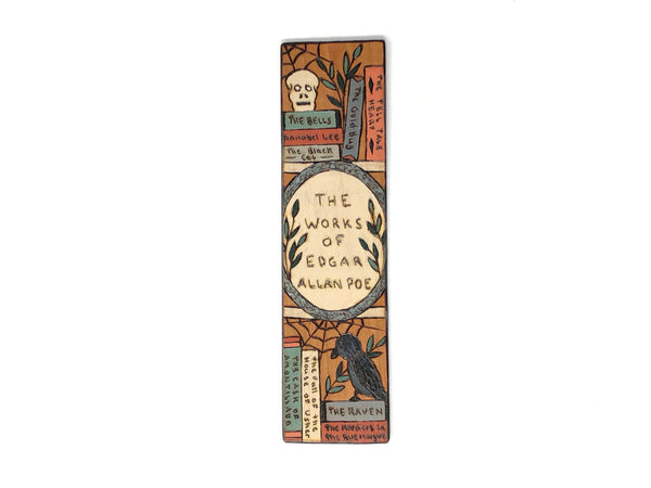 Edgar Allen Poe Collected Works Bookmark