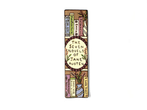 jane austen bookmark